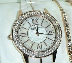 12 2298rgst ceramic rose gold tone crystal