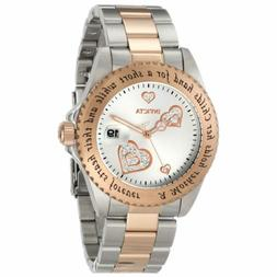 Invicta 14731 Lady's Angel Two Tone Rose Gold Bracelet Watch