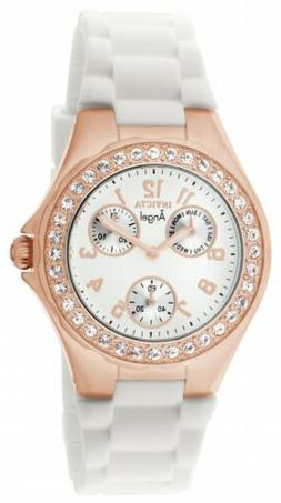 Invicta Women's 1646 Angel Jelly Fish Crystal-Accented 18k R