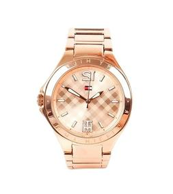 Tommy Hilfiger Women's 1781384 Rose Gold-Tone Stainless Stee