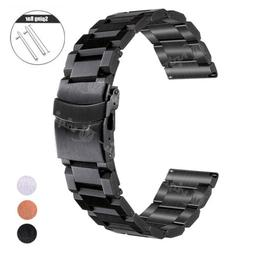 18 20 22mm Wrist Strap For Fossil Watch Band Stainless Steel