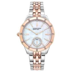 Anne Klein 2305MPRT Two-Tone 35mm Swarovski Crystal Womens W