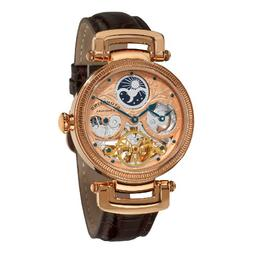 "Stuhrling Original Men's 353A.334K14 ""Magistrate"" 18k Rose G"