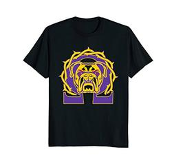 Men's Omega Que Dawg T-Shirt Psi Phi Purple Gold Tee Shirt