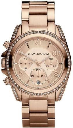 Womens Blair Rose Gold-Tone Watch Valentines Day Gift Water