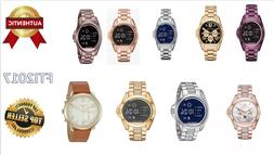 Michael Kors Access Bradshaw Smart Watch Rose Gold/ Blue Fos
