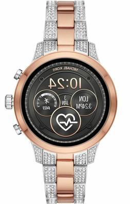 Michael Kors Access Slim Runway Silver Rose Gold Smart Watch