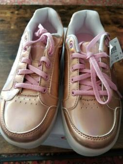 ad2ad0bee9fd Airwalk Rose Gold Girl s Sneakers Size 2 newThe sneakers lig