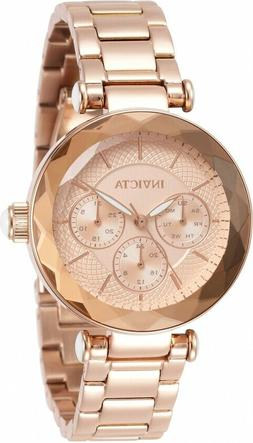INVICTA ANGEL 31272 ROSE GOLD STAINLESS STEEL CHRONOGRAPH WO