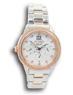 Invicta Angel Women's 37mm Rose Gold Two-Tone Multi-Function