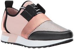 Steve Madden Women's Antics Sneaker, Rose Gold, 8 M US