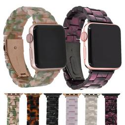For Apple Watch Band 42mm / 38mm Men Women Resin Strap Rose