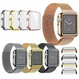 Apple Watch 38/42MM  40/44MM Full Body Cover Snap On Case +