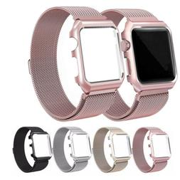 For Apple Watch Series 5 4 3 2 1 Magnetic Milanese Loop Band