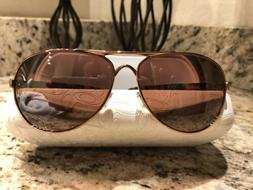 Authentic Oakley Feedback Women's Sunglasses Rose Gold/Brown