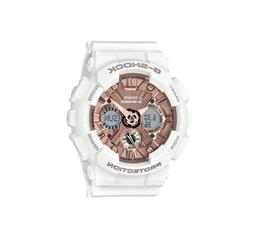 Authentic G-Shock White & Rose Gold S Series Shock Resist Wa