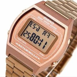 Casio B640WC-5 Mens Digital Retro Vintage Style Watch NEW Ro