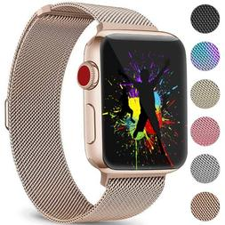 DaQin Bands Compatible with Apple Watch Band 42mm 44mm for W