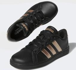 Adidas Baseline K Shoes Sneakers Black Rose Gold BC0262 Wome