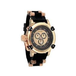 Black Rose Gold Barrel Designer Fashion Watch Geneva Silicon