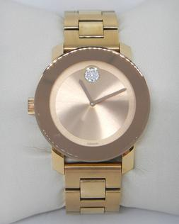 1c22b5aa9 MOVADO BOLD 36MM LADIES ROSE GOLD TONE SWISS WATCH MODEL 360