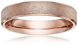 brand new 4mm women titanium rose gold