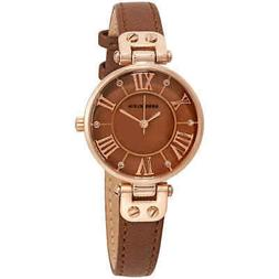 Anne Klein Brown Dial Ladies Watch 2718RGBN
