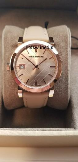 BURBERRY BU9109 The City Rose Gold Tone Women's Watch