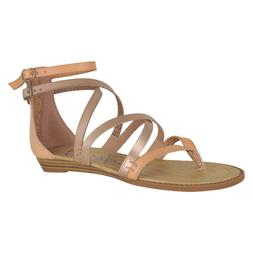 94d62693ad55 Blowfish Bungalow ankle strap gladiator Rose Gold Women sand