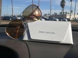 Women's Michael Kors Collection 59mm Aviator Sunglasses - Ro