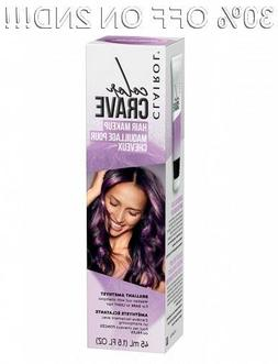 Clairol Color Crave Temporary Washable Hair Makeup, Amethyst