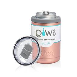 Swig 12oz Combo Cooler-Rose Gold