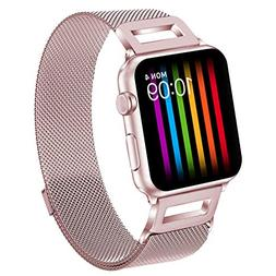 Amzelas Compatible Bands Replacement for Apple Watch Series