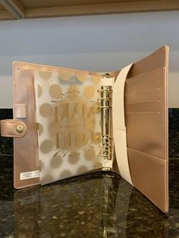 Recollections Creative Year 6 Ring Planner Binder Rose Gold
