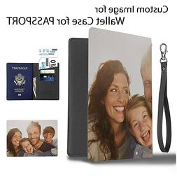 Custom your Image Photo Personalize Cover Wallet Travel Docu