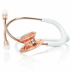 Dual Head Stethoscope Stainless Steel Rose Gold Edition Prem