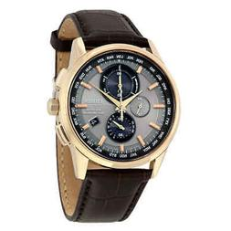 Citizen Eco-Drive World Chronograph A-T Men's Watch AT8113-0