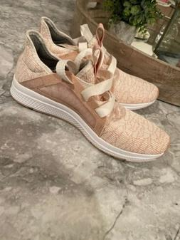 adidas Edge Lux Casual Running Neutral Shoes Rose Gold Pink