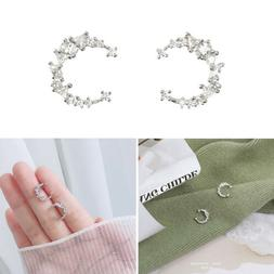 Fashion Women's Girl 925 Silver Sterling Earrings Cute Ear S