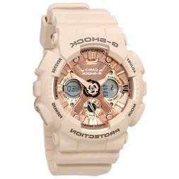 G-Shock Rose Gold-Tone Dial Unisex Watch GMA-S120MF-4ACR
