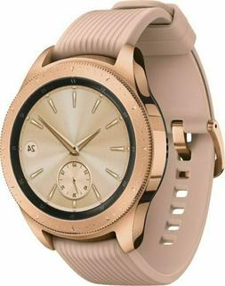 Samsung Galaxy 42mm Stainless Steel Case 200 Rose Gold Band