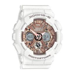 Casio GMAS120MF-7A2 G-Shock S Series White and Rose Gold  Wo