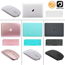 Hard Case Shell+Keyboard Cover+Wireless Mouse For 2018 Mac M