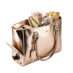 Insulated Wine Tote Bag with Key chain Bottle Opener by Blus