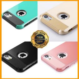 For iPhone 6 6S 8 7 Plus X Case Hybrid Hard Heavy Duty Shock