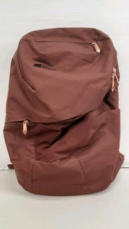 The North Face Isabella Backpack rose gold zipper pulls comf
