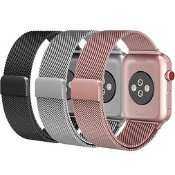 For iWatch Apple Watch Series 3/2/1 Watch Metal Band Strap A
