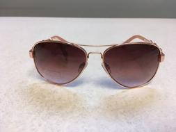 Jessica Simpson J5399 Rose Gold Women's Sunglasses NWT