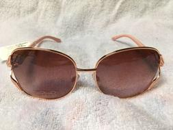Jessica Simpson J5514 Rose Gold Pink Women's Sunglasses NWT