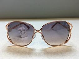 Jessica Simpson J5749 Rose Gold Nude Women's Sunglasses NWT